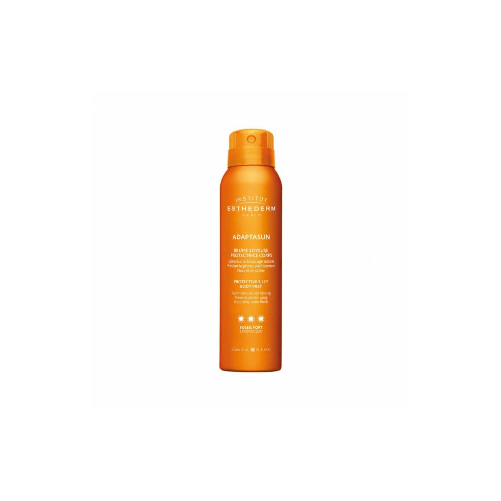 esthederm sun adaptasun protective silky strong body mist 150ml