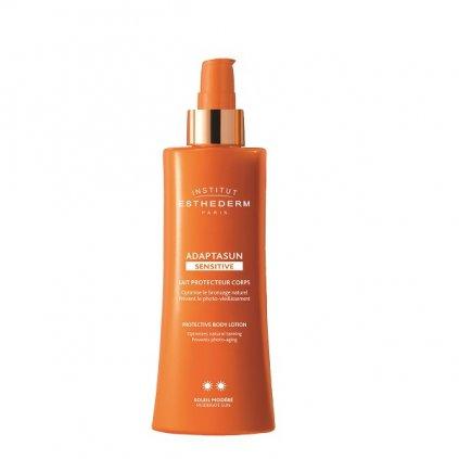 adaptasun sensitive skin body milk sun normal or strong sun telove mleko pro citlivou plet pro silne slunko