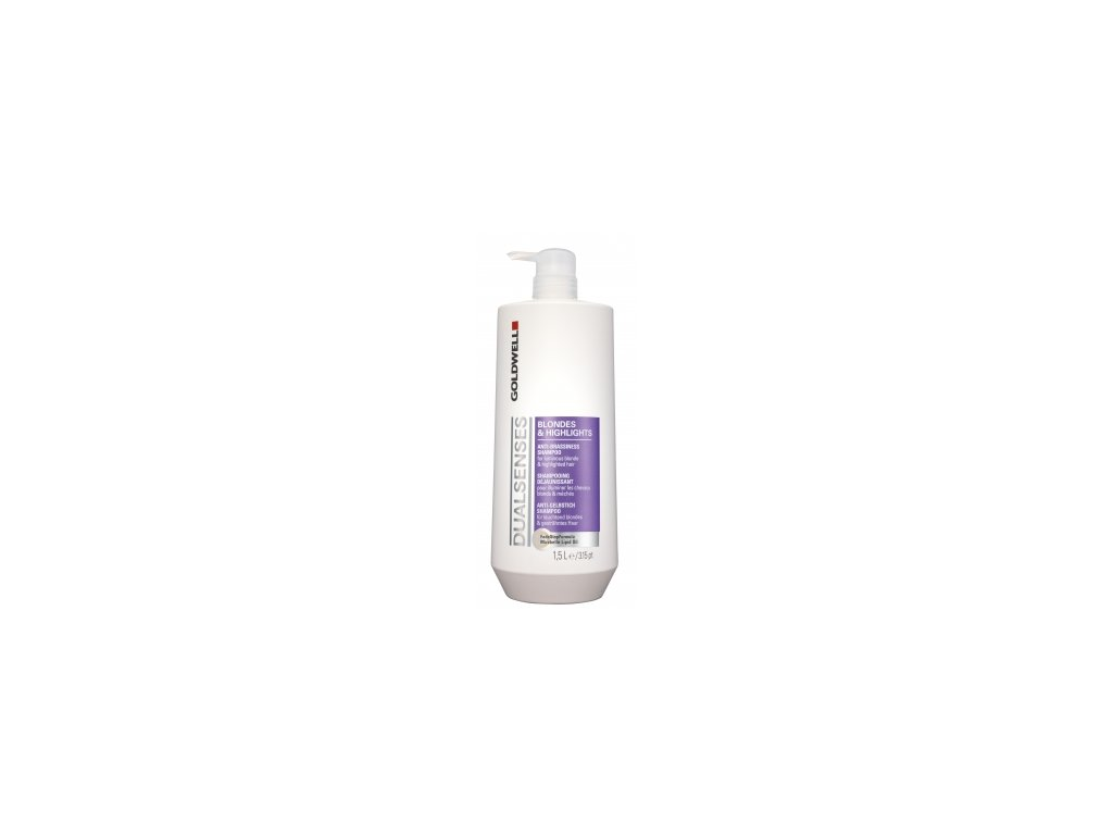 Goldwell Dualsenses Blondes & Highlights Anti Brassiness šampon 1500 ml