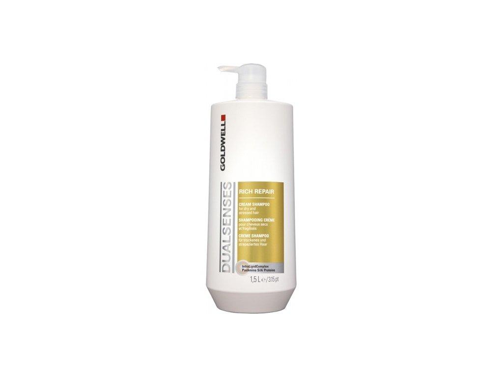 Goldwell Dualsenses Rich Repair šampon pro lámavé a poškozené vlasy 1 500 ml