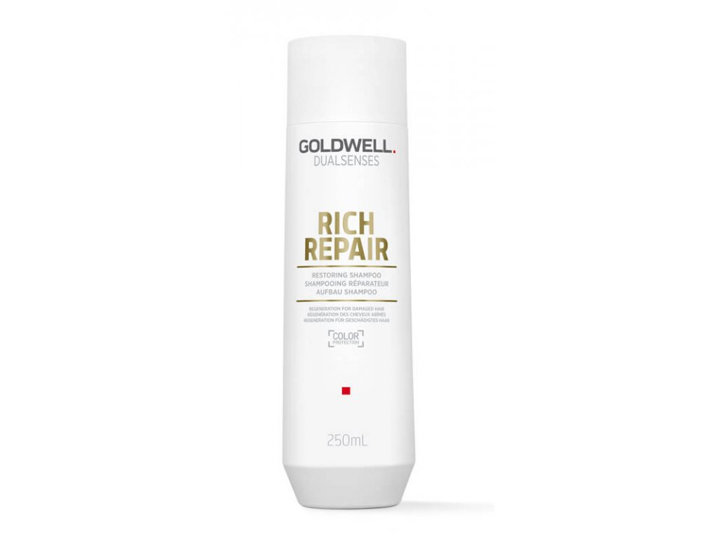 Goldwell Dualsenses Rich Repair regenerační šampon pro poškozené vlasy 250 ml