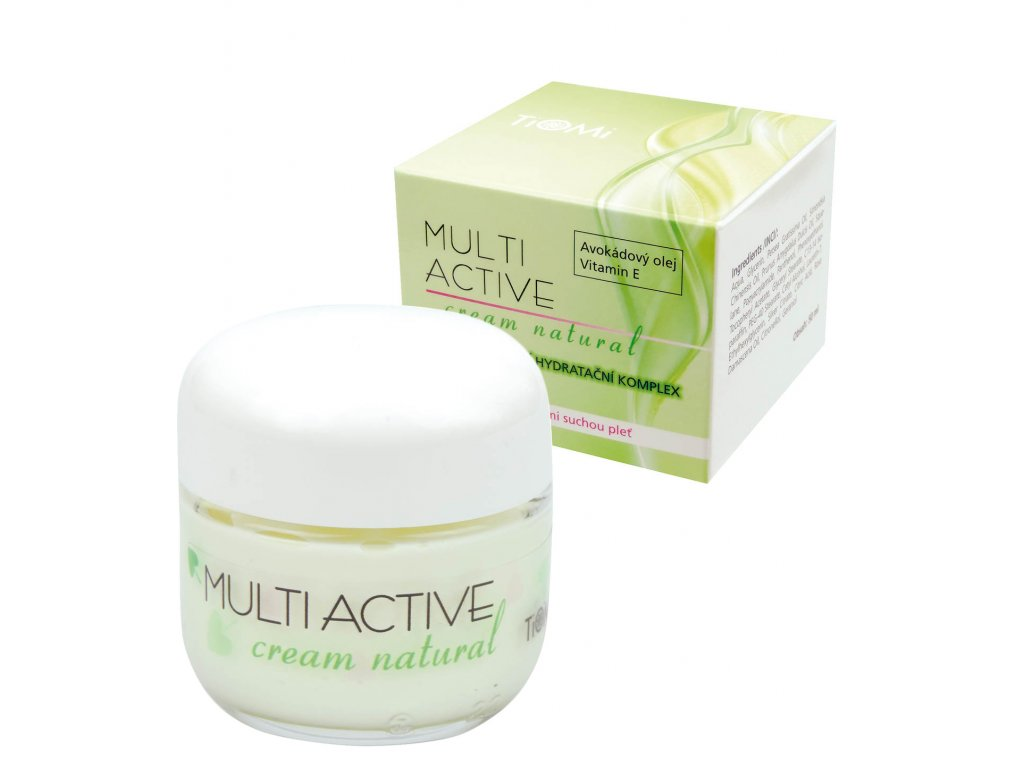 multi active cream natural