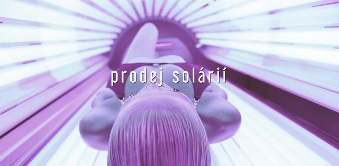 Prodej solárií