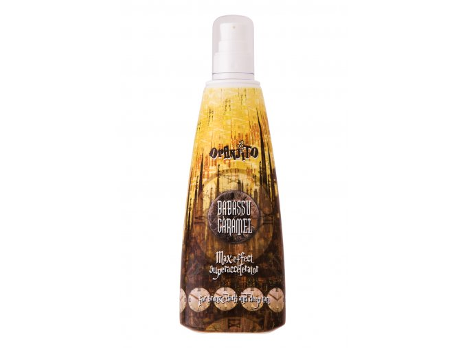 solarni kosmetika oranjito babassu caramel superaccelerator