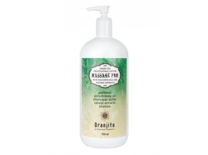 masazni mleko oranjito massage pro zeleny caj 750