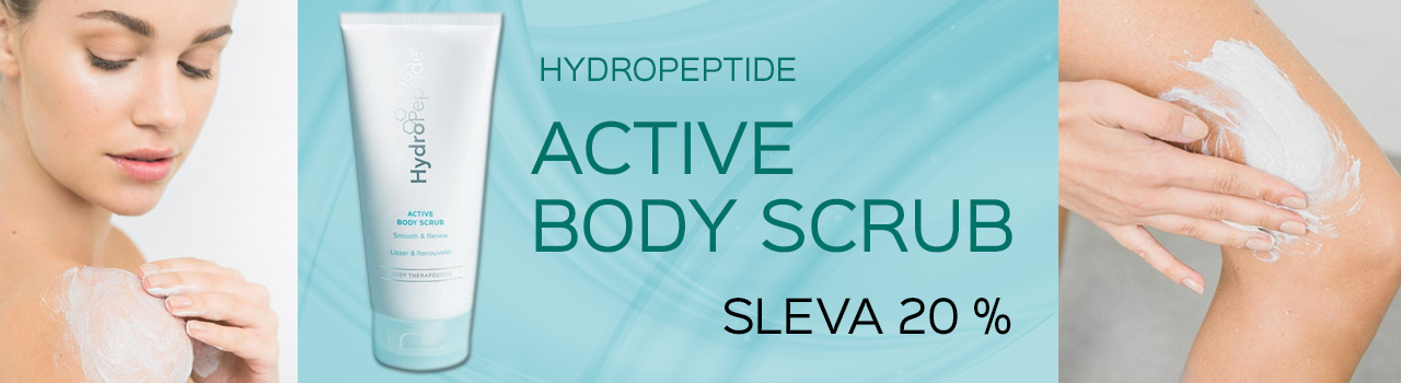 Hydropeptide body scrub