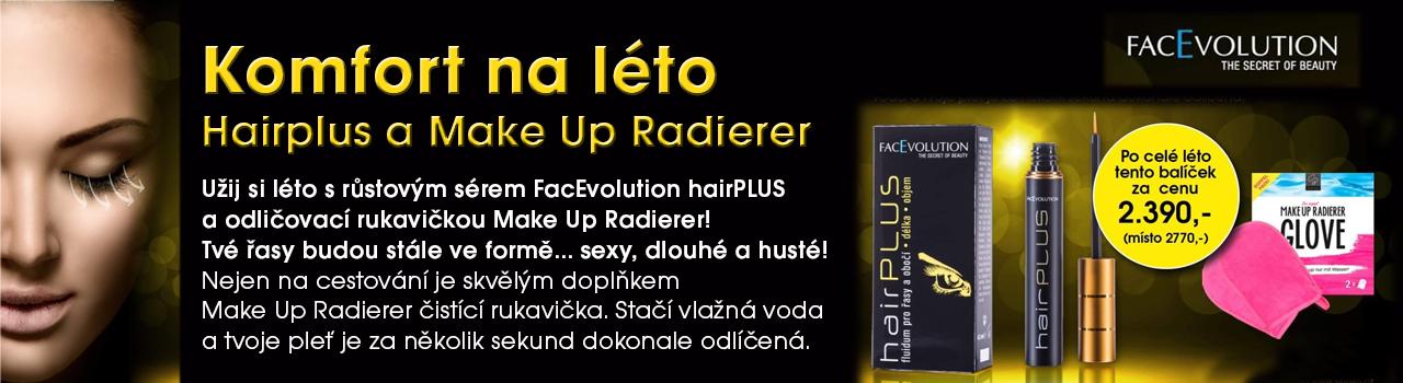Facevolution hairPLUS + Make Up Radierer
