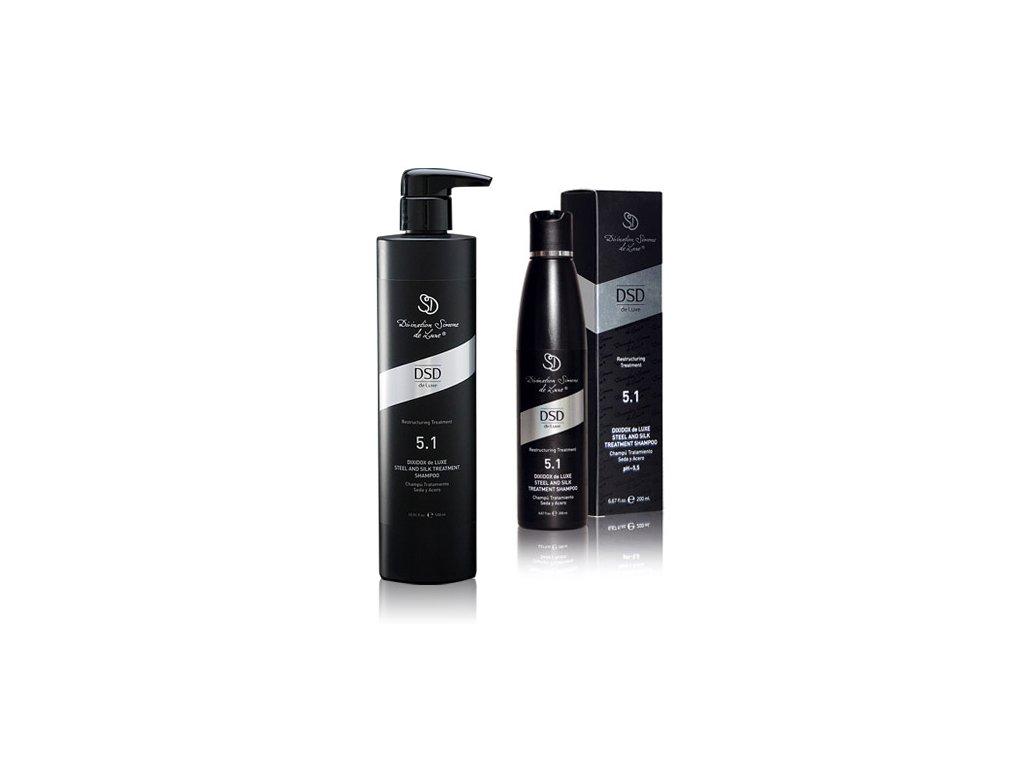 dsd poškozené vlasy šampon