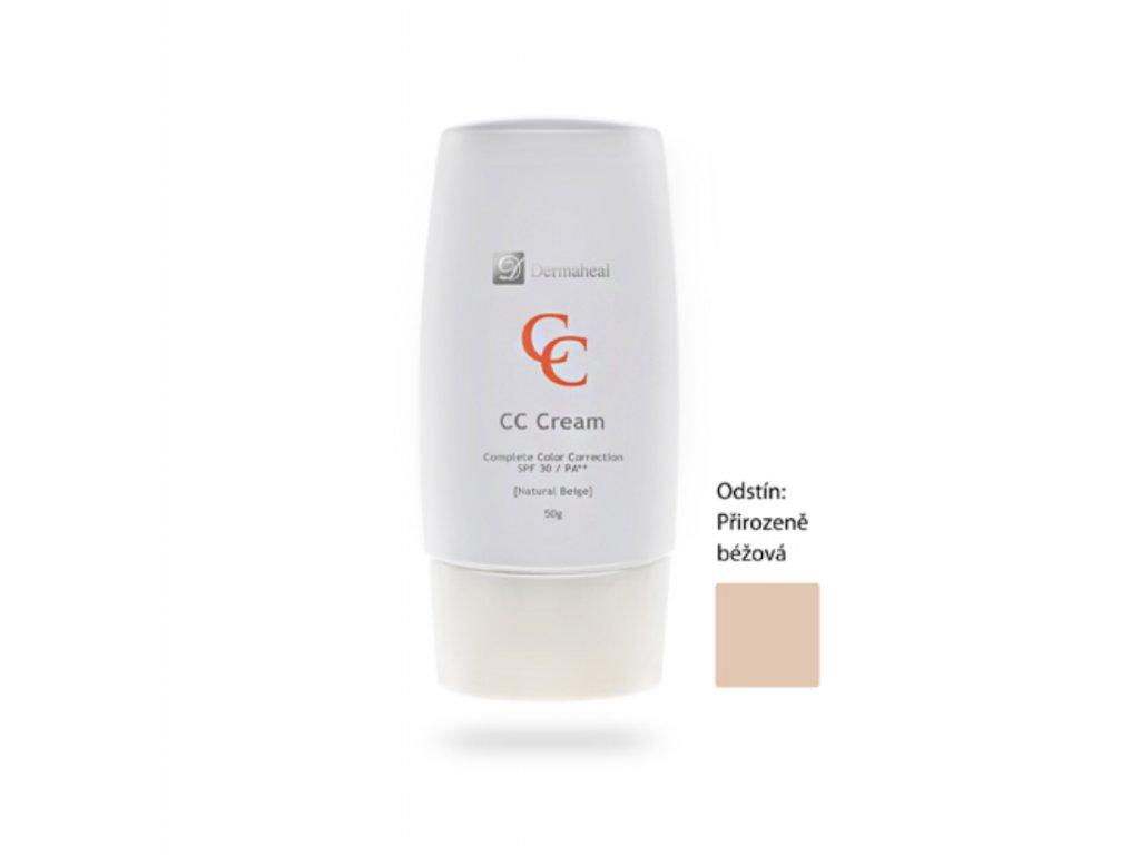 DERMAHEAL CC CREAM 50g Natural Beige
