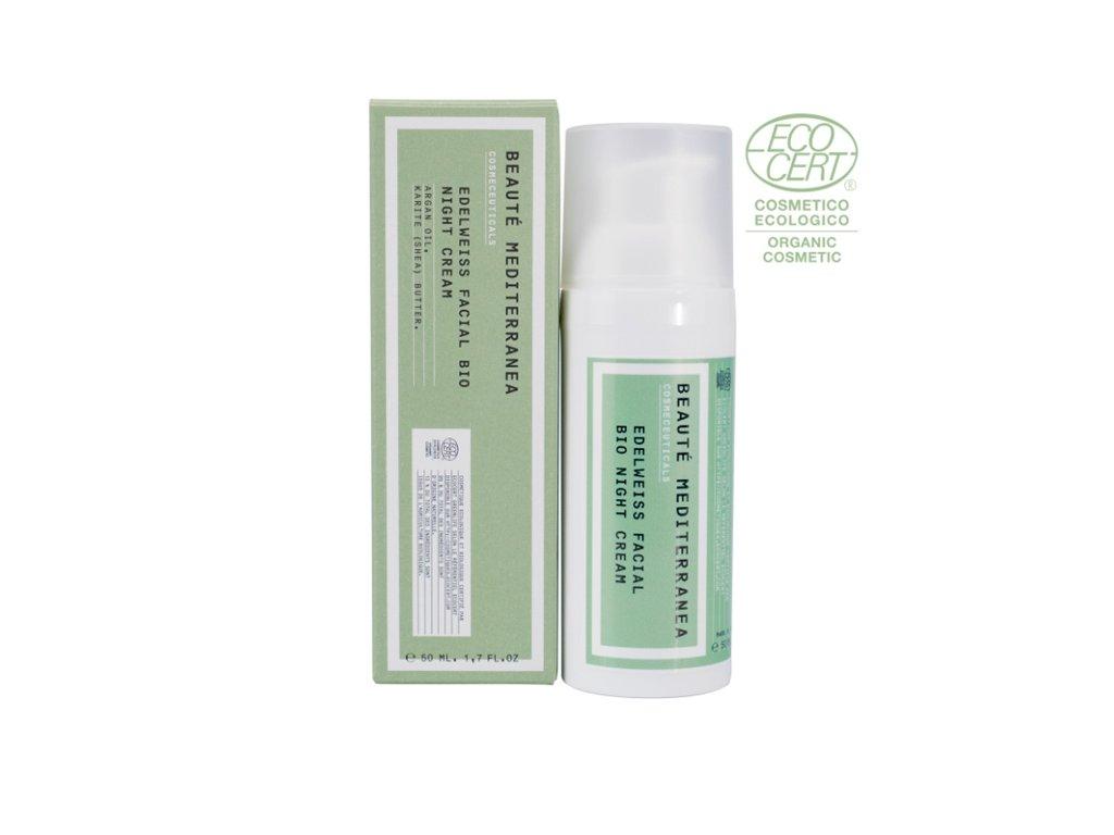 beaute mediterranea edelweis facial bio night cream