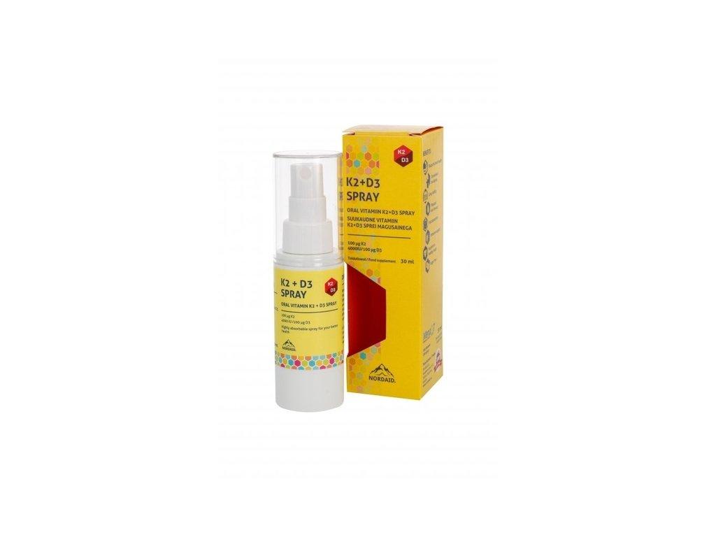 NORDAID K2 + D3 SPRAY | kosmetika4u.cz