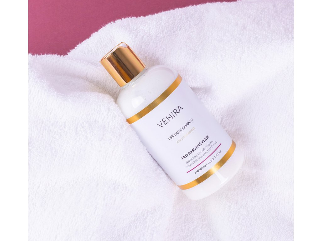 Venira přírodní šampon pro barvené vlasy 300 ml