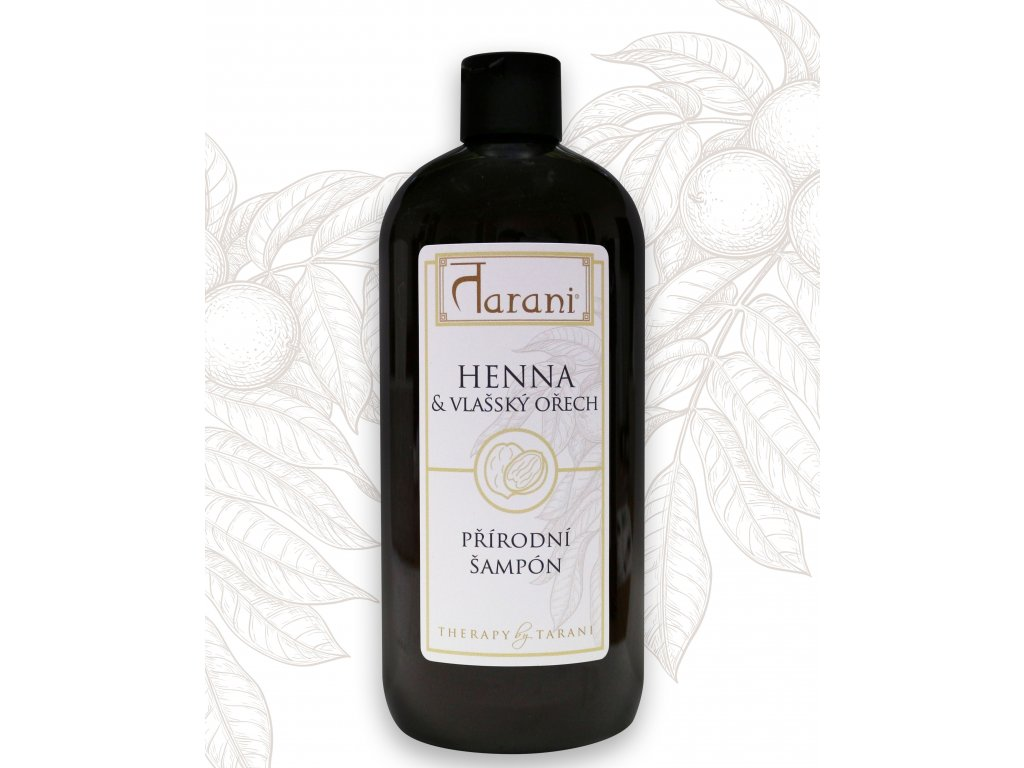 Tarani šampon ořech henna 500 ml