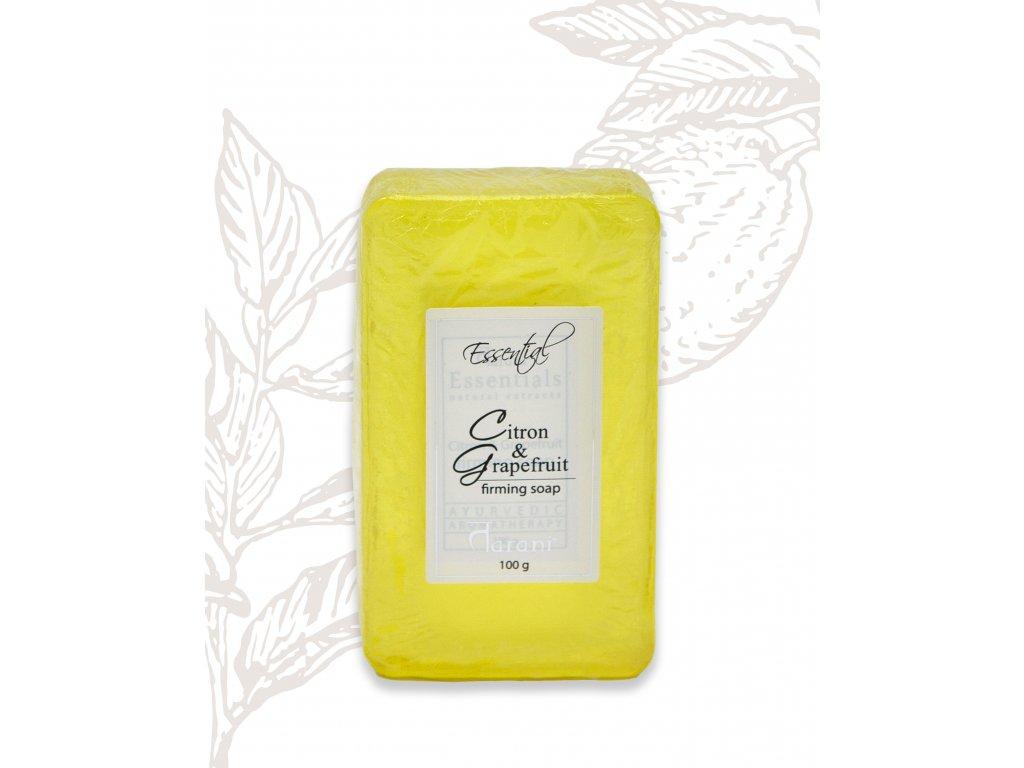 Tarani tuhé mýdlo citron grep