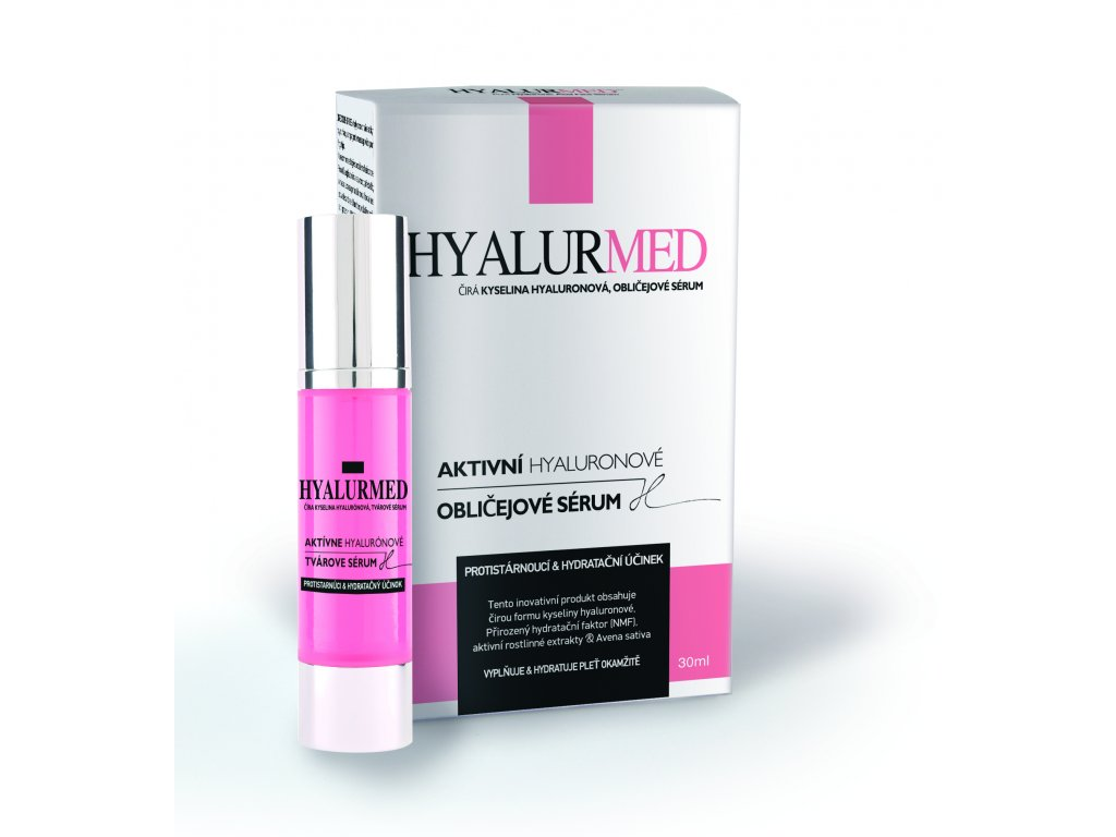 HYALURMED FACE SERUM BOX BOTTLE cz