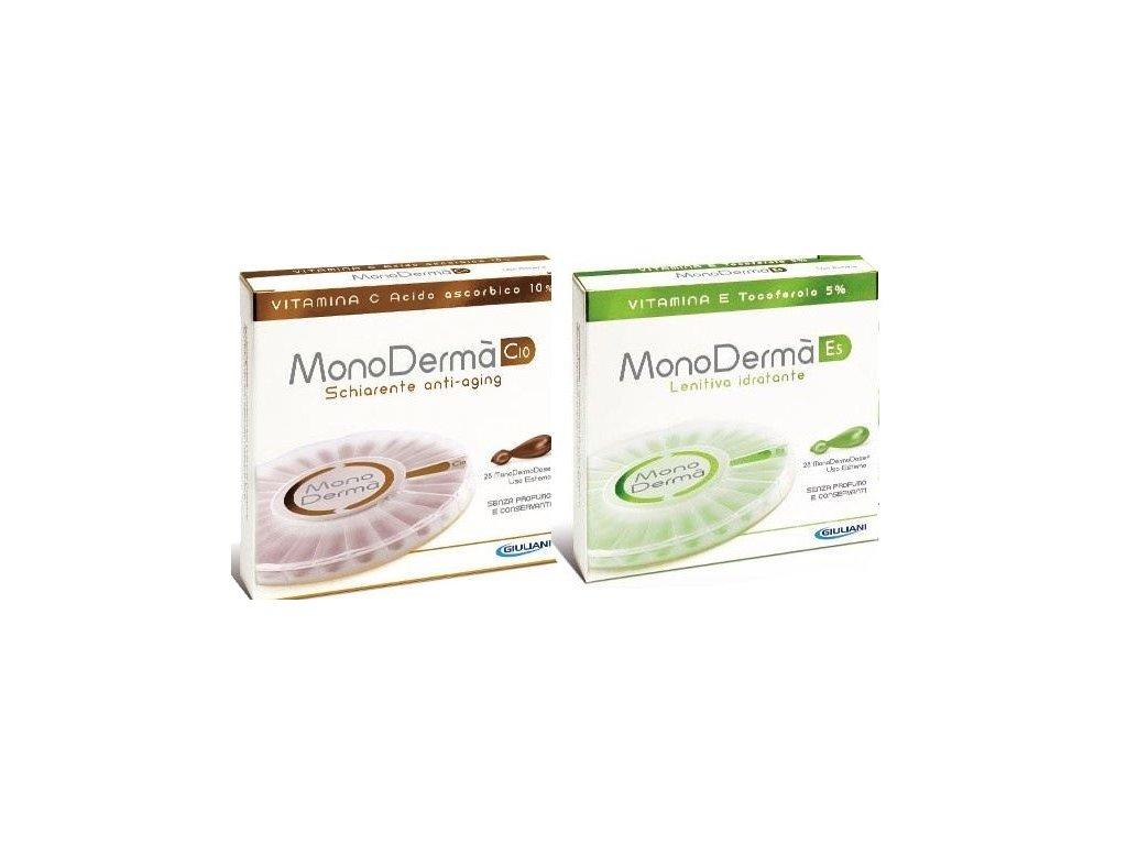Monoderma vánoční balíček C10 a E5 | kosmetika4u.cz