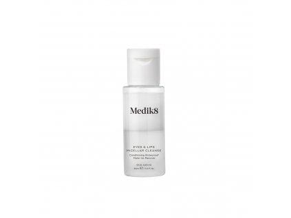 Medik8 eyes and lips micellar cleanse travel