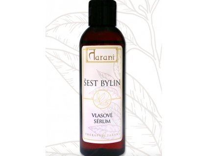 Tarani-vlasové sérum šest bylin