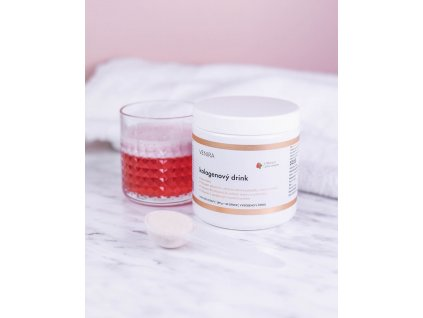 Venira kolagenový drink jahoda novinka