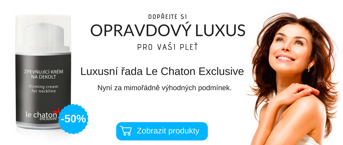 Výprodej luxusní kosmetiky Le Chaton Exclusive