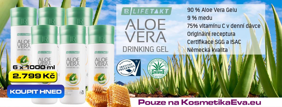 LR Aloe Vera s medem akční nabídka na www.kosmetikaeva.eu