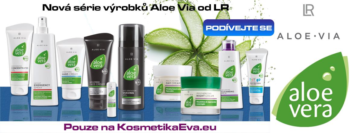 Nová řada Aloe Via od LR