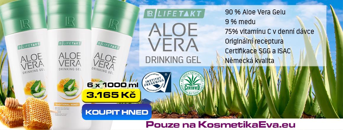 LR Aloe Vera Gel s medem akce Kosmetikaeva.eu