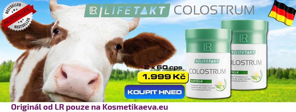 LR COlostrum kapsle akční nabídka KosmetikaEva.eu