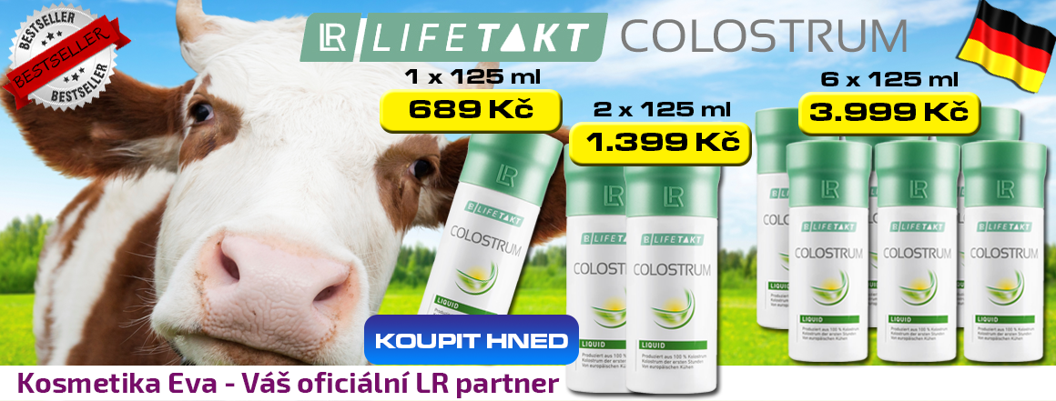 LR Colostrum Direct Liquid akční nabídka KosmetikaEva.eu