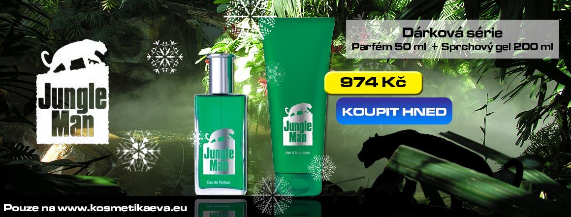 LR Jungle Man Dárková série akční nabídka KosmetikaEva.eu
