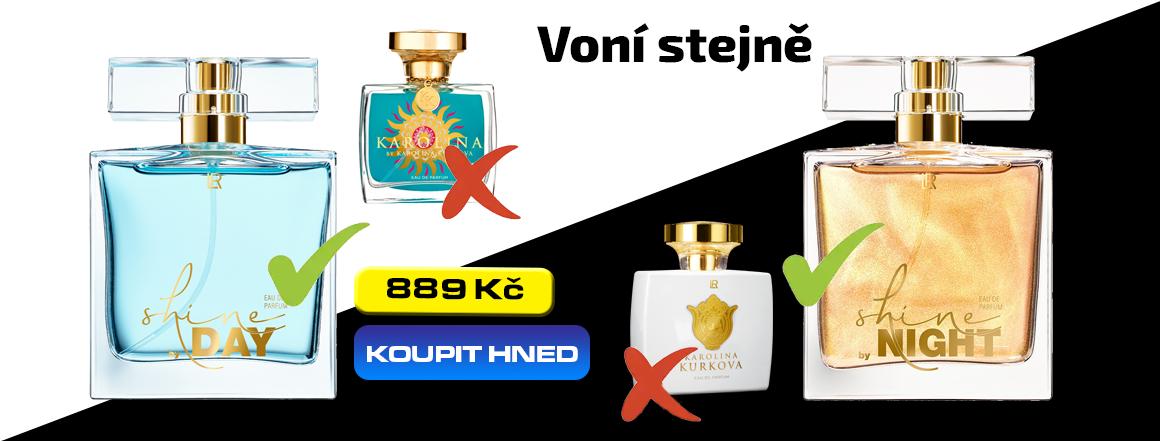 Alternativa k parfému Karolina Kurková