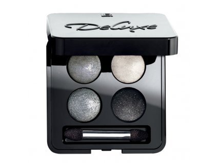LR Umělecké oční stíny Quattro (odstín Night Rock) 4 x 0,5 g