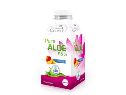 Eurona Aloe vera gel - UP s broskví 500 ml