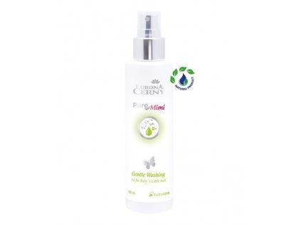 Eurona PureMimi - Jemný mycí olej na zadeček pro miminka, 150 ml