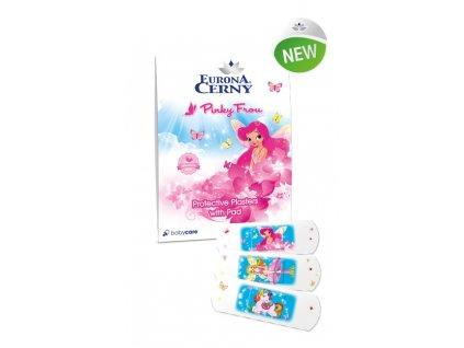 Eurona Pinky Frou – Ochranné náplasti s polštářkem, 18 ks