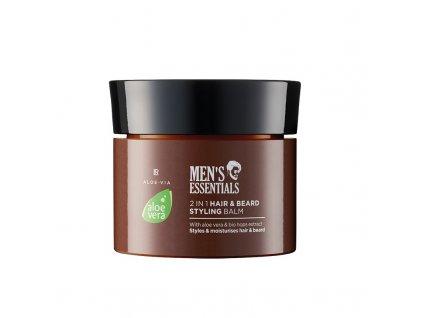 LR Aloe Vera 2v1 Balzám pro tvarování vlasů a vousů 50 ml