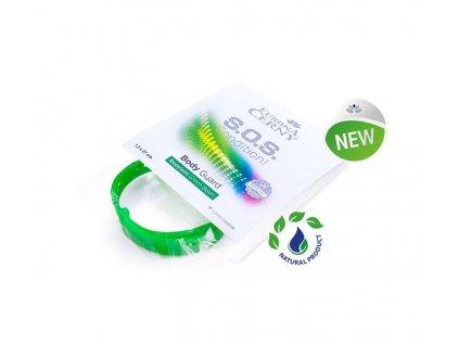 Eurona Body Guard Ochranný repelentní náramek proti hmyzu zelený, 1.3x27 cm