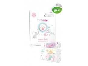 Eurona Pure Mimi 0+ Jemné dětské ochranné náplasti s polštářkem, 15 ks