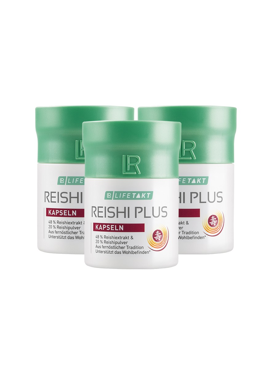 LR Health & Beauty LR LIFETAKT Reishi Plus Kapsle Série 3 x 30 kapslí