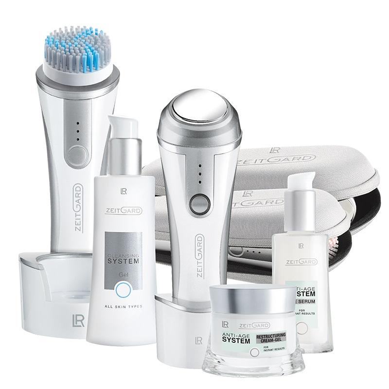LR Health & Beauty LR ZEITGARD Systém pro čištění pleti + Anti-age systém Série (Classic+Restrukturalizační krémový gel)