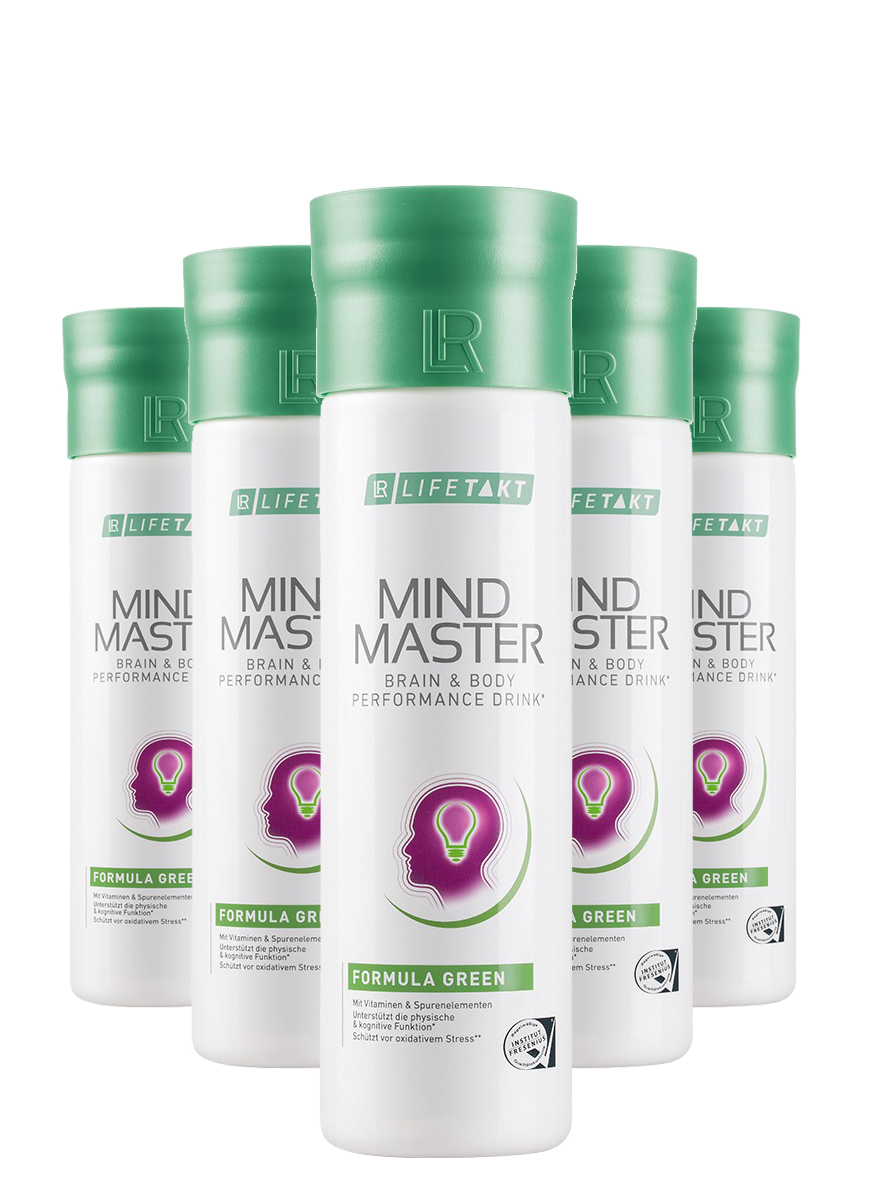LR Health & Beauty LR LIFETAKT Mind Master Formula Green série 5 x 500 ml
