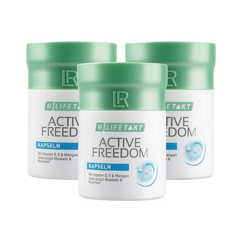LR Health & Beauty LR Freedom Plus Kapsle Série 3 x 60 kapslí