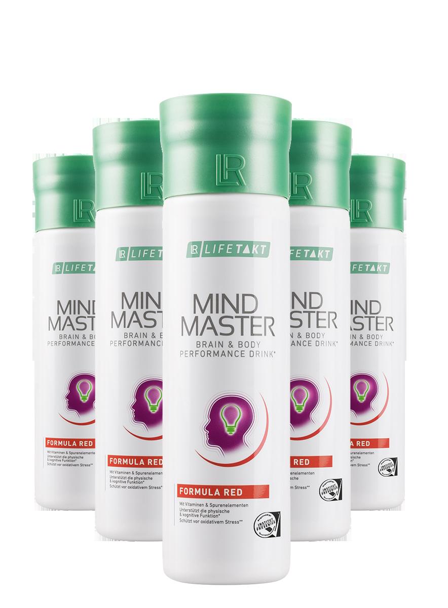 LR Health & Beauty LR Mind Master Formula Red Série 5 x 500 ml