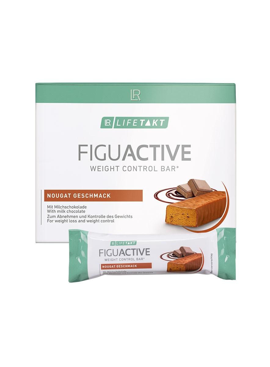 LR Health & Beauty LR LIFETAKT Figu Active Tyčinka s nugátovou příchutí 6x 60 g