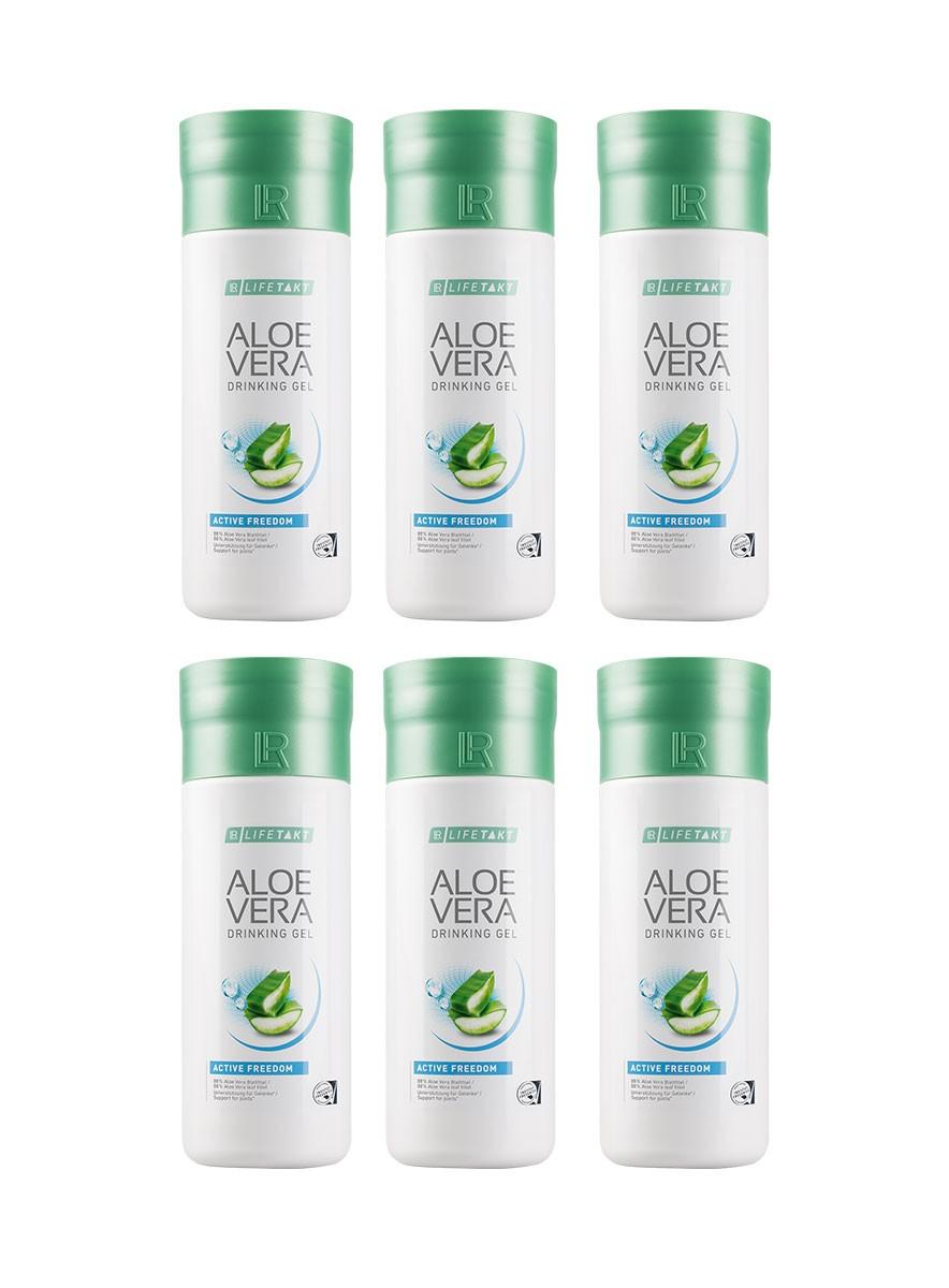 LR Health & Beauty LR Aloe Vera Drinking Gel Freedom Série 6 x 1000 ml