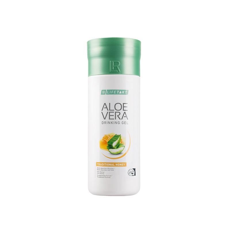 LR Health & Beauty LR LIFETAKT Aloe Vera Drinking Gel Traditional s medem 1000 ml
