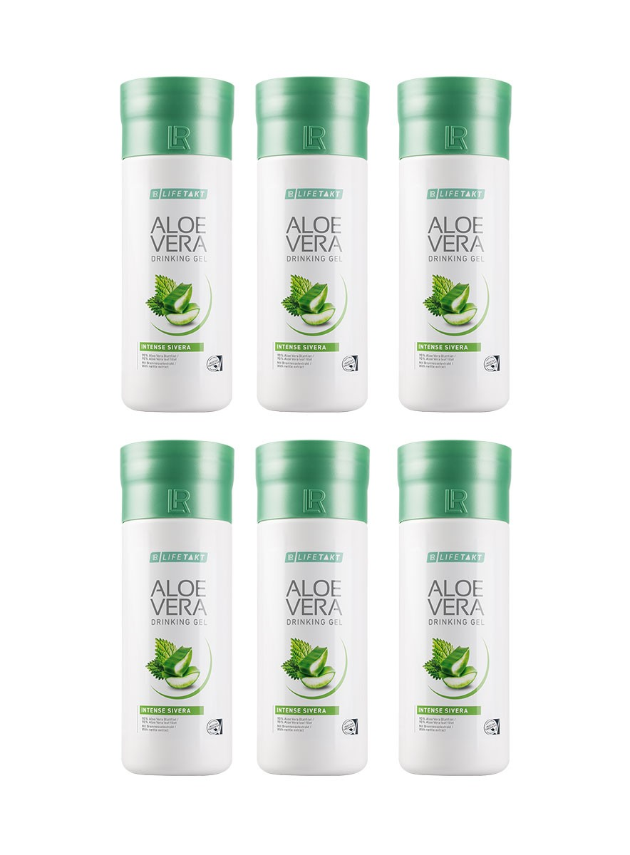 LR Health & Beauty LR Aloe Vera Drinking gel Sivera Série 6 x 1000 ml