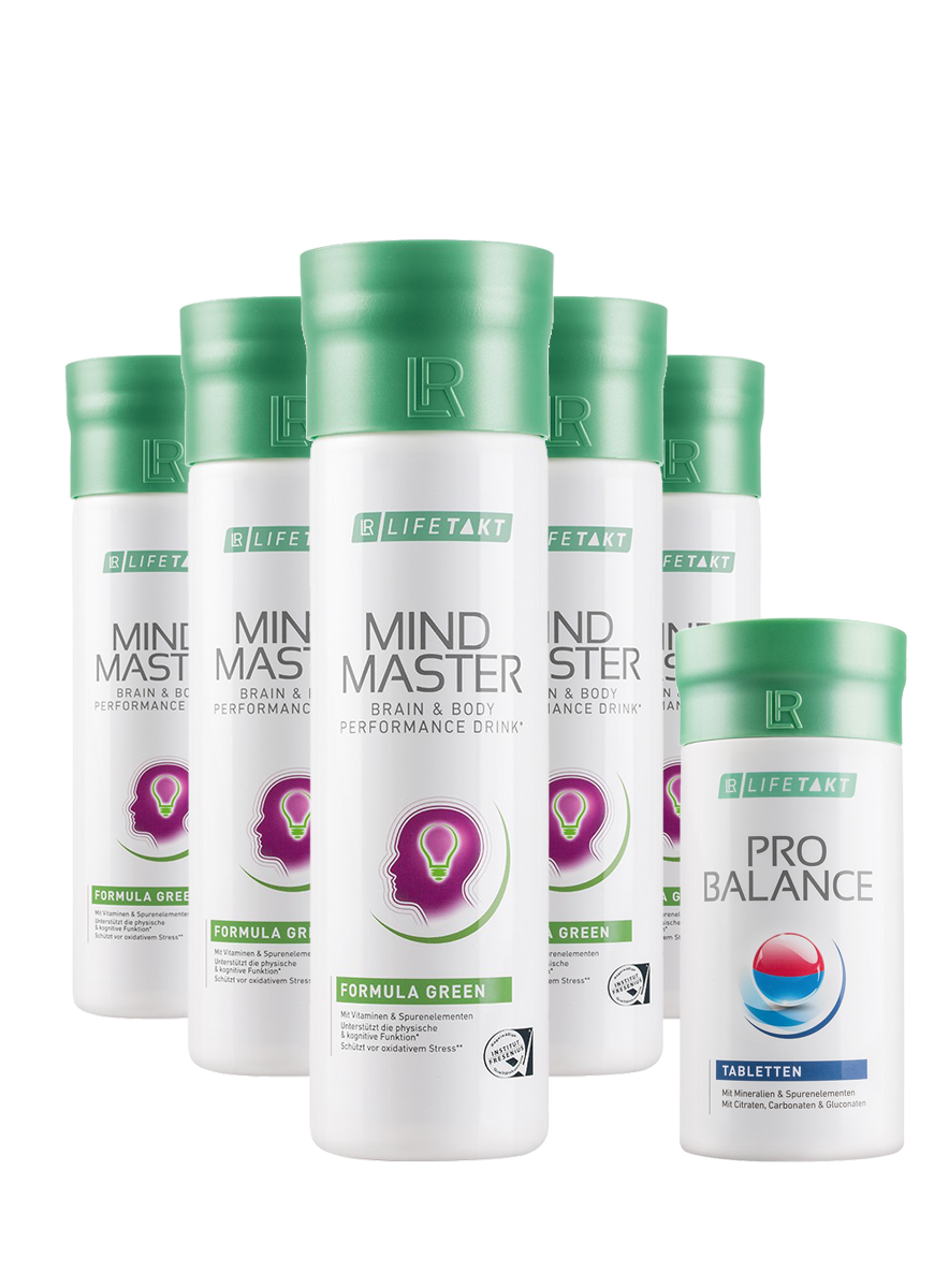 LR Health & Beauty LR LIFETAKT Mental Power Green Měsíční série