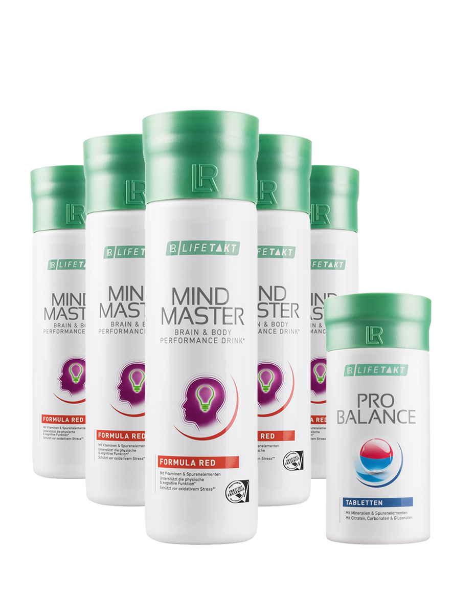 LR Health & Beauty LR LIFETAKT Mental Power Red Měsíční série