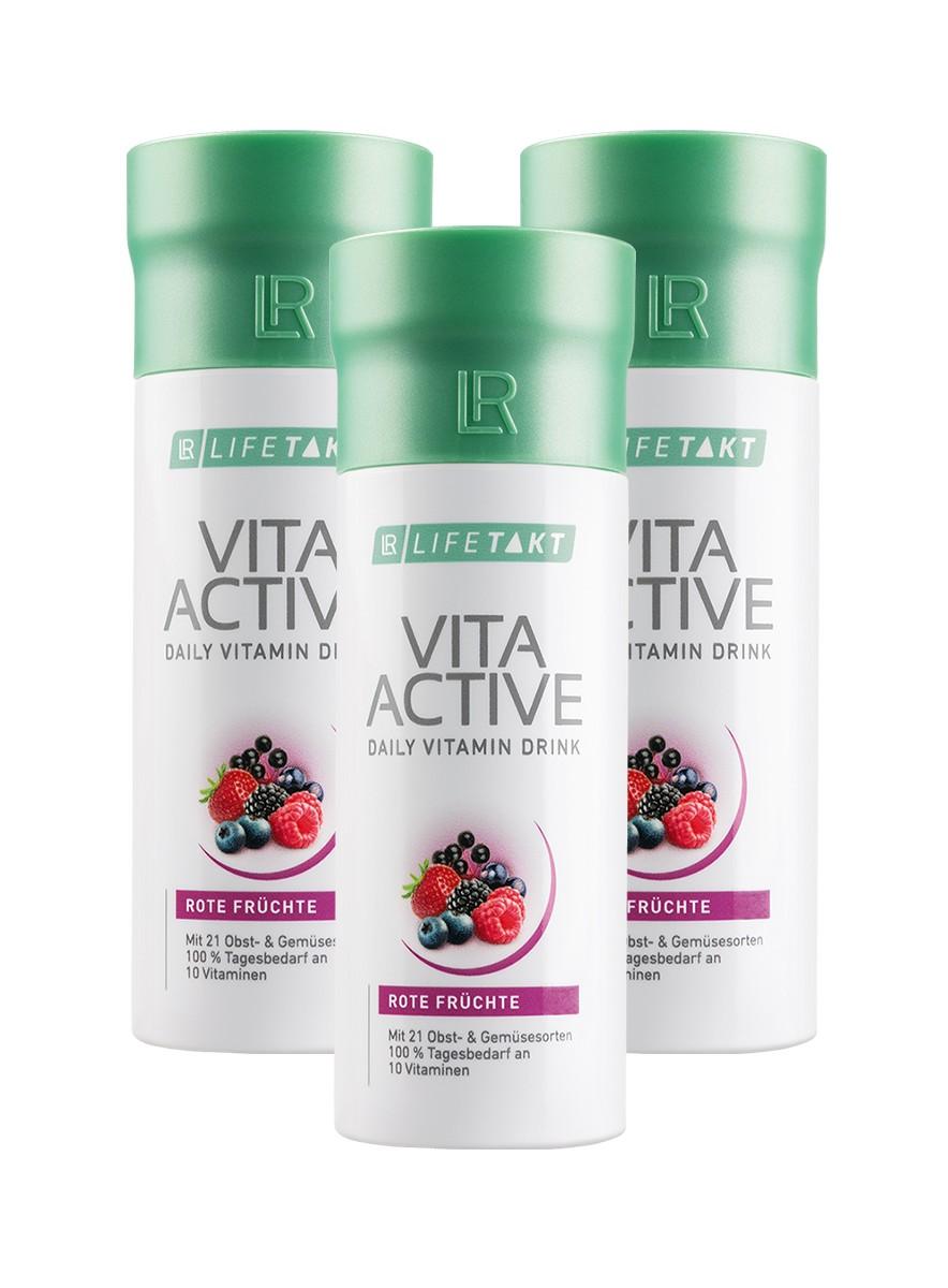 LR Health & Beauty LR LIFETAKT Vita Active Red 3 x 150 ml